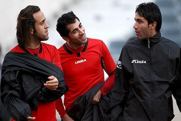 تقابل علی کریمی و جواد نکونام در قاب لیگ