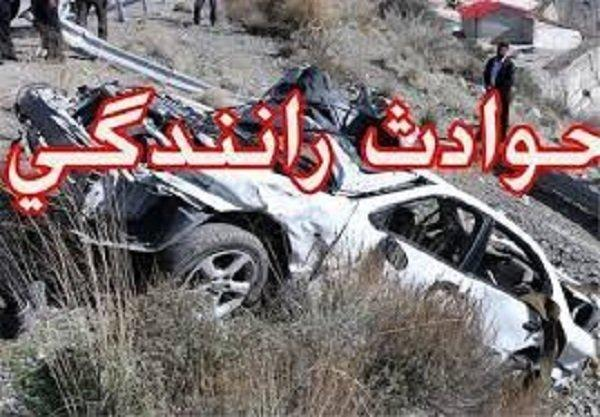 13کشته و مجروح در دو سانحه رانندگی محور زابل -زاهدان