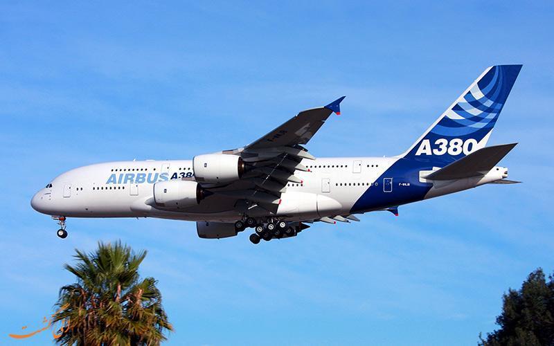 توقف ساخت بزرگ ترین هواپیمای دنیا، ایرباس A380