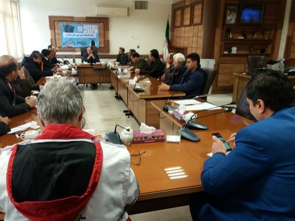 برگزاری اولین جلسه خدمات سفر نوروز 98 در چناران