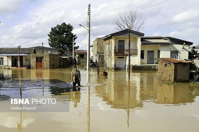 آخرین وضعیت گازرسانی در مناطق سیل زده