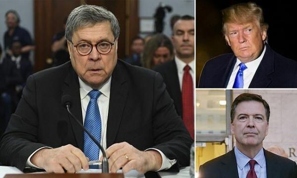 ترامپ به جنجال تحقیقات روسیه افزود: کودتای نافرجام
