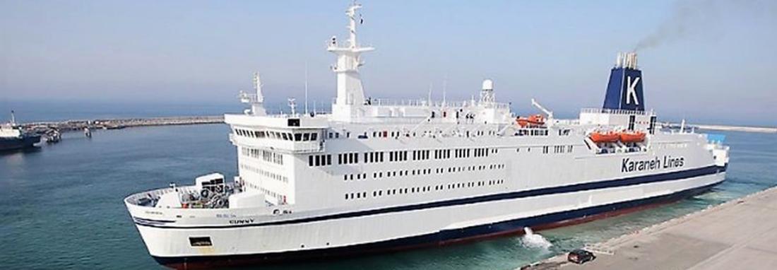 تصاویر پهلوگیری پیشرفته ترین کشتی تجاری و گردشگری در بندر بوشهر ، گراندفری مسافران را در 5 کلاس از ایران به قطر می برد