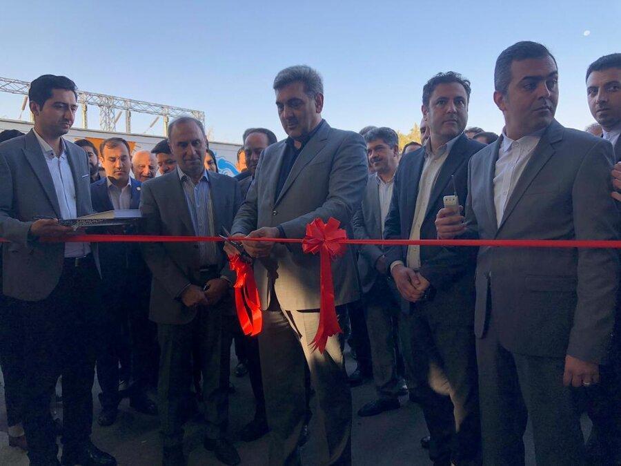 افتتاح مرکز تخصصی بازیافت با حضور حناچی