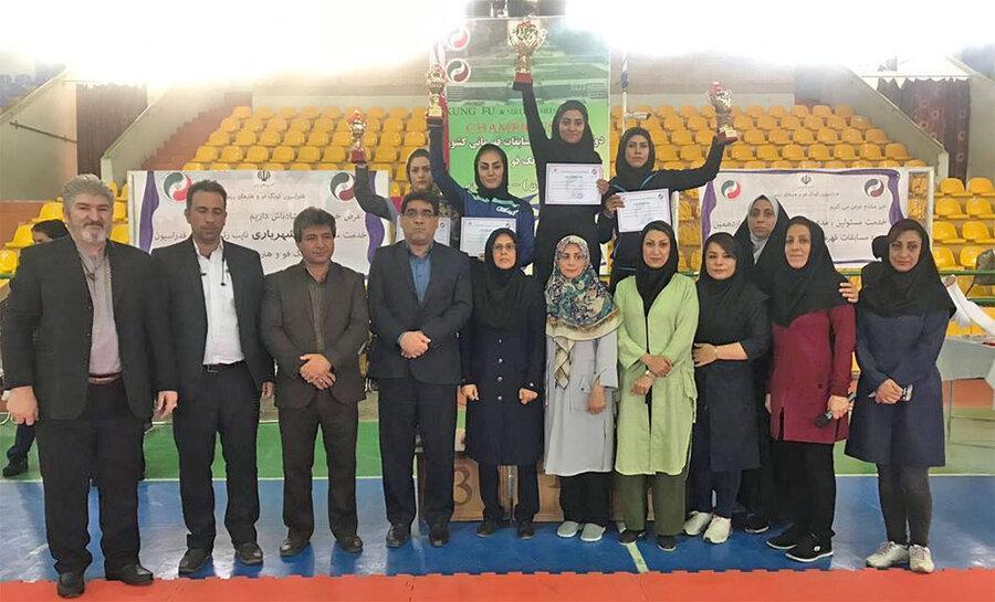 تهران فاتح مسابقات کشوری کونگ فوی بانوان در رده سنی جوانان شد