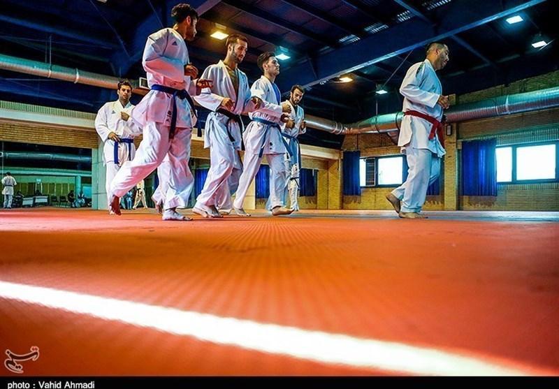 برپایی آخرین اردوی تیم ملی کاراته پیش از اعزام به ژاپن
