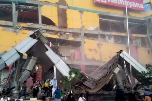 شمار قربانیان زلزله و سونامی اندونزی به 832 نفر رسید