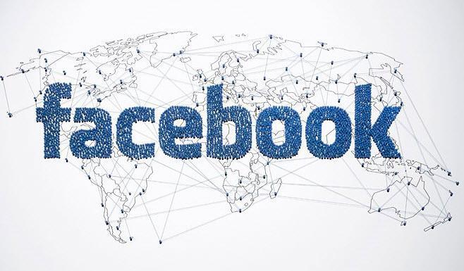 نمودار: مقایسه تعداد کاربران شبکه های اجتماعی با کشورهای پرجمعیت دنیا- فیس بوک پرجمعیت تر از چین