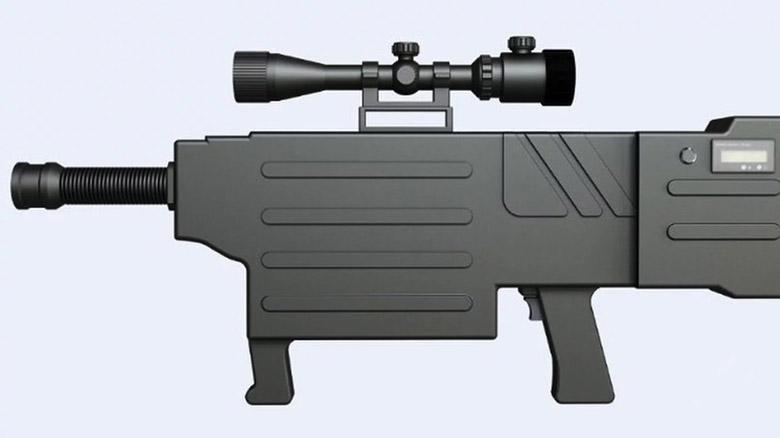 تفنگ لیزری جدید چین به معنای واقعی شما را آتش می زند ولی نمی کشد
