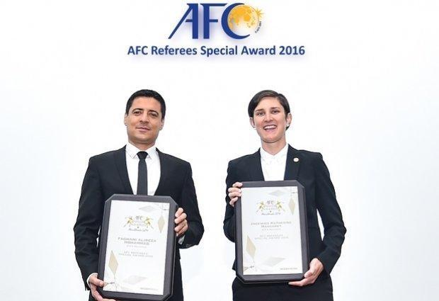 قضاوت داور ایرانی در فوتبال استرالیا افتخار بزرگی است