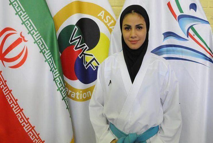 صعود سارا بهمنیار در رنکینگ جهانی کاراته