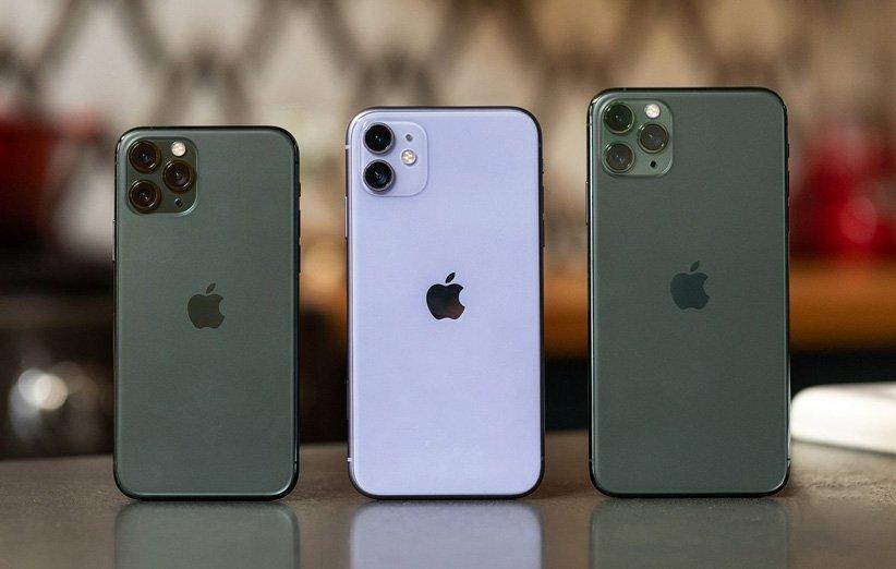 افزایش فراوری سری گوشی های آیفون 11
