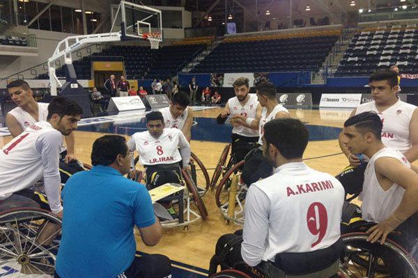 تیم بسکتبال با ویلچر زیر 23 سال ایران مغلوب قهرمان اروپا شد