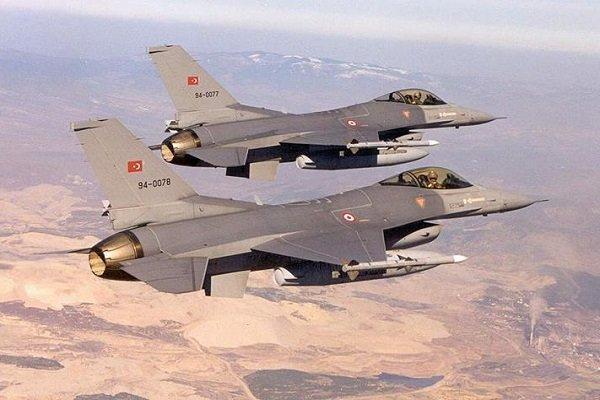 بمباران مواضع قسد در عمق 50 کیلومتری داخل سوریه