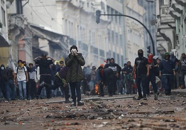 اعتراض ها در اکوادور به خون نشست