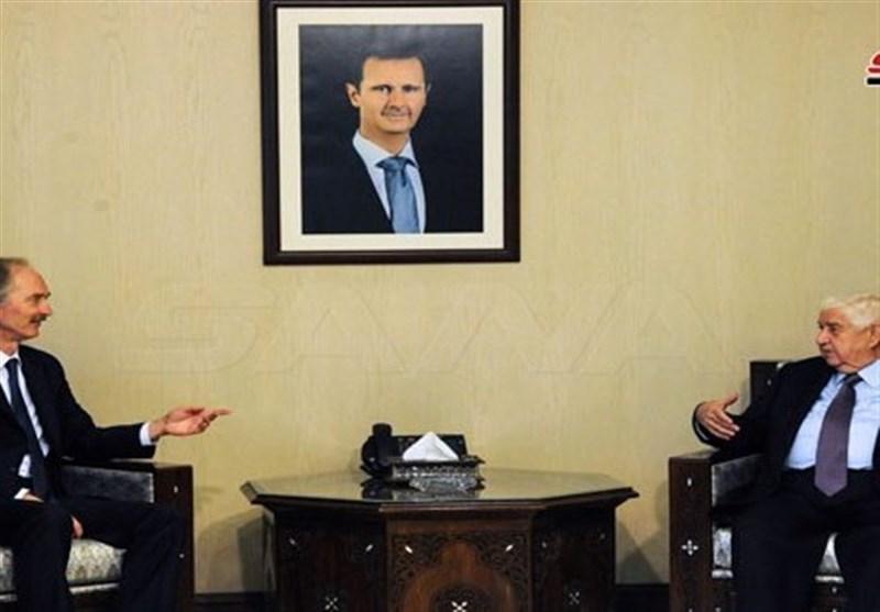 المعلم: حمله ترکیه فعالیت کمیته قانون اساسی سوریه را به صورت جدی تهدید می نماید