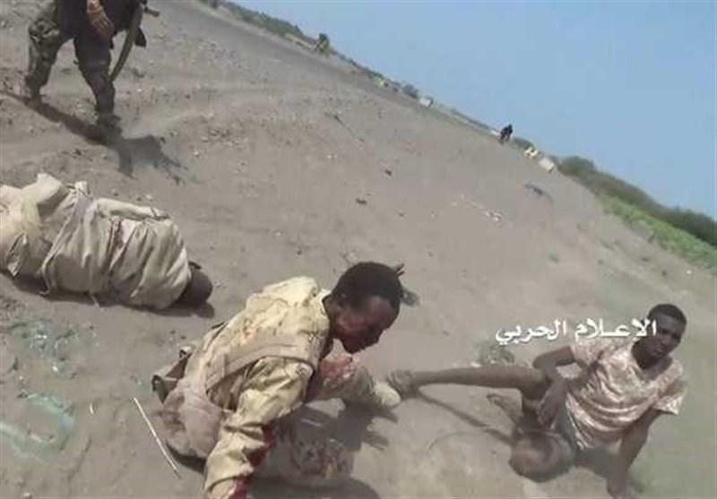 اسارت ده ها متجاوز سودانی به دست نیروهای یمنی