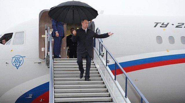 پوتین وارد چین شد