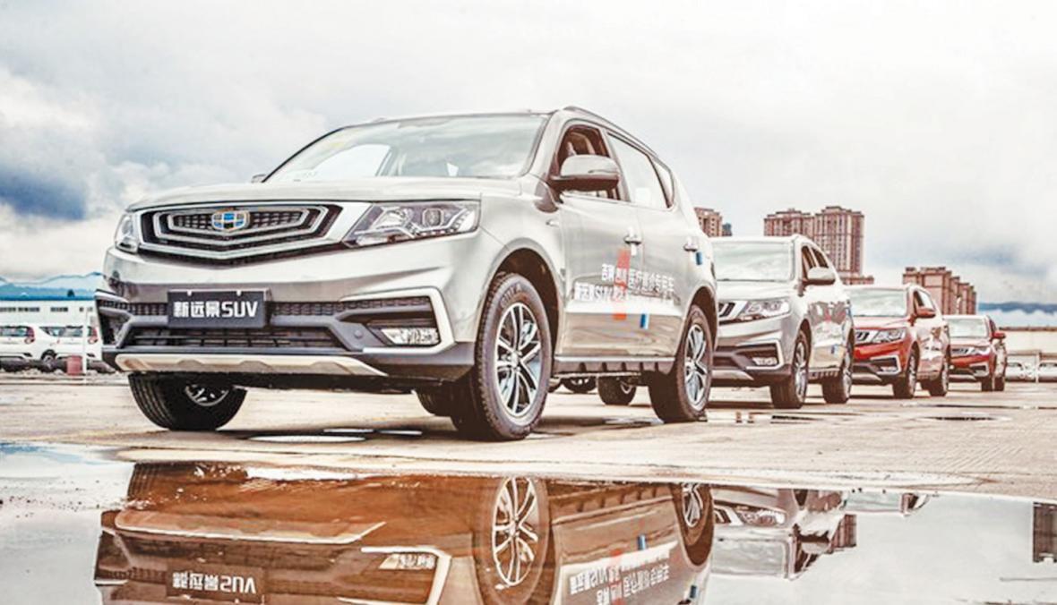 فروش خودروهای بومی در چین افت کرد