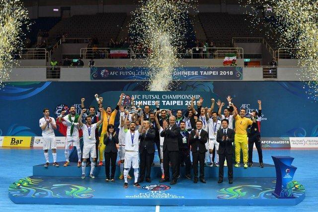 فوتسال ایران در رده ششم دنیا، قهرمانی اروپا باارزش تر از آسیا