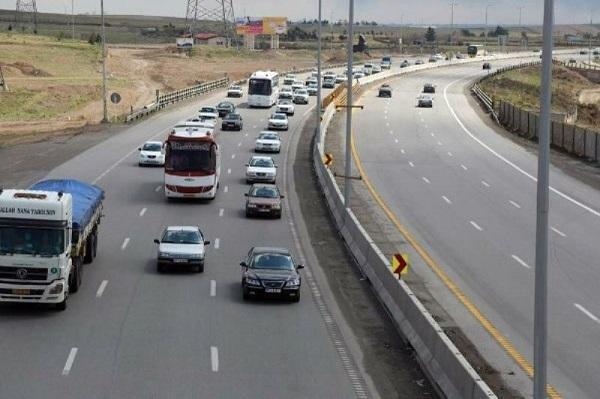 شرایط محور های مواصلاتی در 20 دی، کاهش 7.4 درصدی تردد در محور های برون شهری