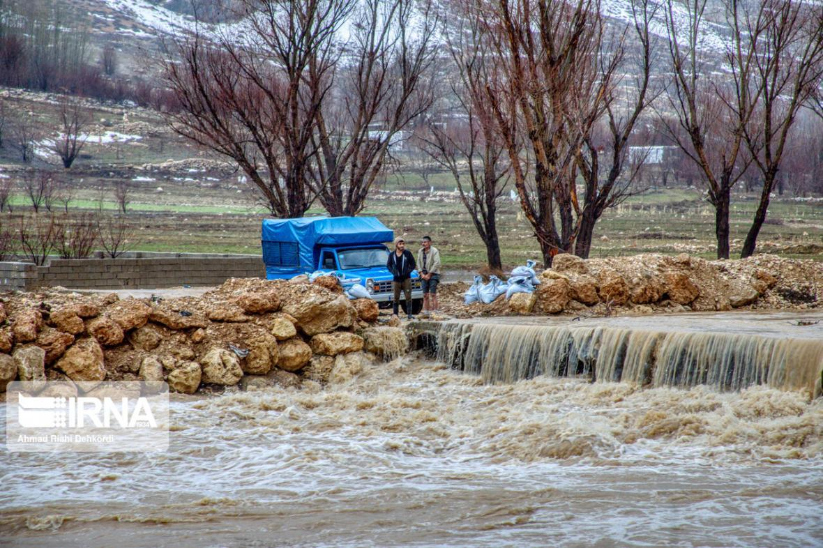 خبرنگاران احتمال سیلابی شدن رودخانه ها در هفته آخر اسفند