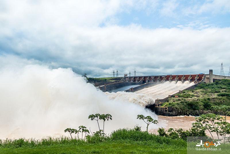 سد ایتایپو؛مرز بین برزیل و پاراگوئه و از عجایب هفتگانه دنیا، عکس