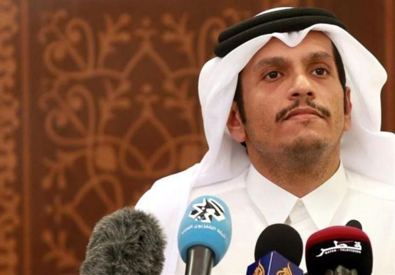 وزیر خارجه قطر: مذاکرات دوحه و ریاض بی دلیل متوقف شد