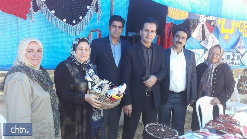 برگزاری نمایشگاه صنایع دستی در ساوجبلاغ