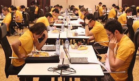برگزاری مسابقات هفتگی برنامه نویسی ICPC