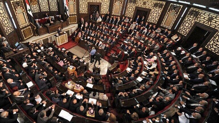 سخنرانی بشار اسد در مجلس سوریه