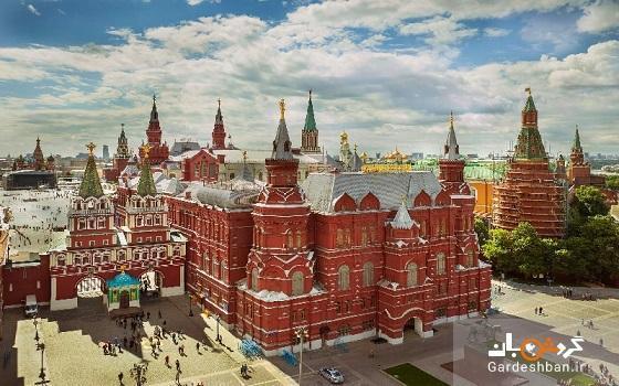 موزه دولتی تاریخ روسیه در میدان سرخ مسکو