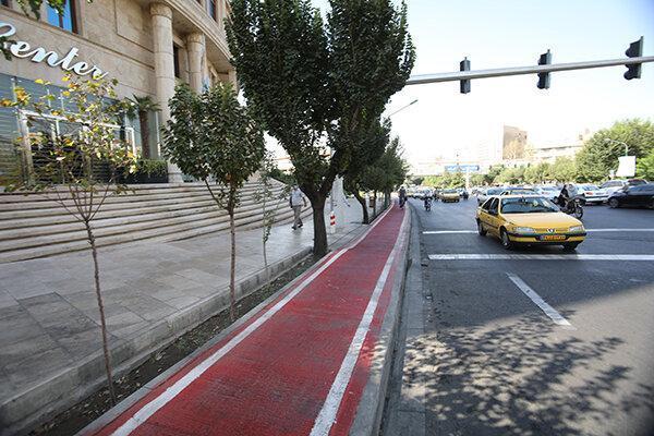احداث جهت ویژه دوچرخه و بهسازی پیاده روها در پایتخت به 149 کیلومتر رسید