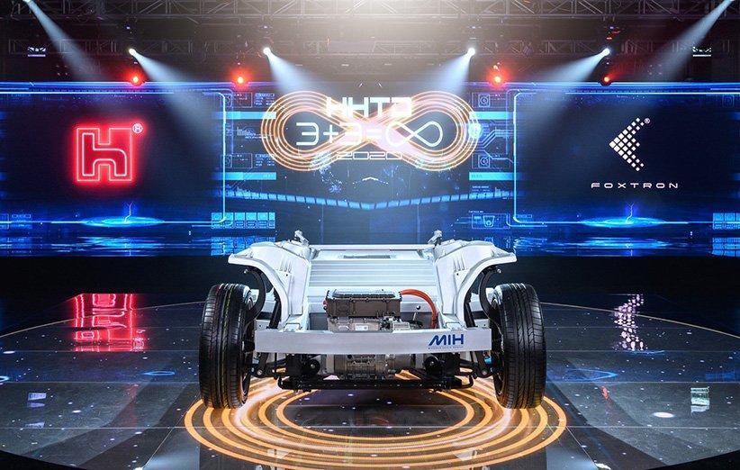 بزرگترین تولیدکننده آیفون از پلتفرم متن باز خودروهای الکتریکی رونمایی کرد