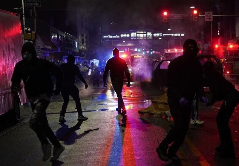 اعلام مقررات منع تردد در فیلادلفیا در پی تشدید ناآرامی ها