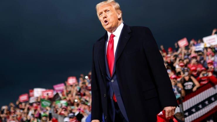 ترامپ:بایدن پیروز شود،ایران صاحب خاورمیانه می شود، با رای دیوان عالی پیروز می شوم،بورس مانند موشک اوج می گیرد!
