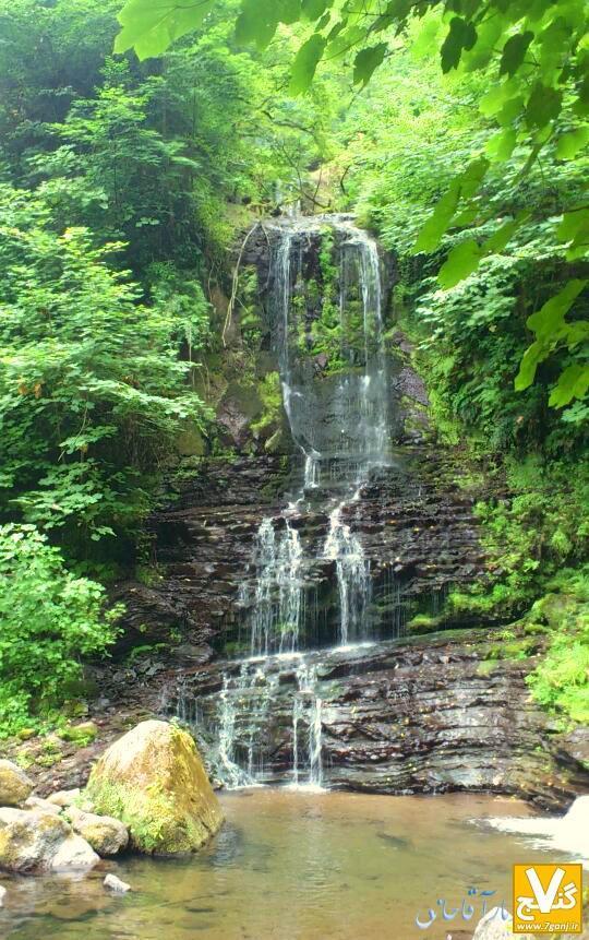 زیباترین و مرتفع ترین آبشارهای استان گیلان
