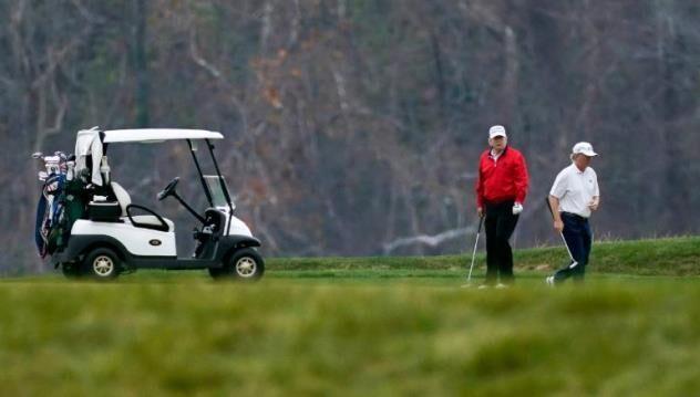 ترامپ بازی گلف را به اجلاس گروه 20 ترجیح داد