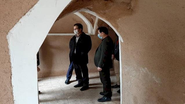 بازسازی مسجد تاریخی نجم آباد شروع شد