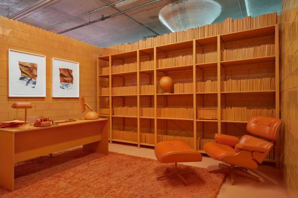 سفر به آمریکا: طراحی خانه هنری در بروکلین که هر اتاق آن یک رنگ دارد