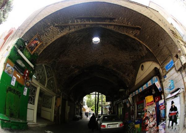 طراحی بازسازی بازارچه قاجاری نائب آقا در خیابان فروزش شروع شد