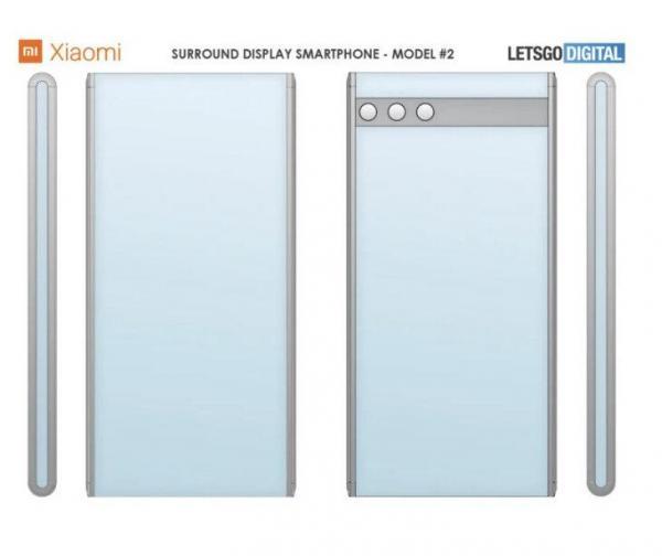 ثبت حق امتیاز 2 گوشی با نمایشگر سراسری