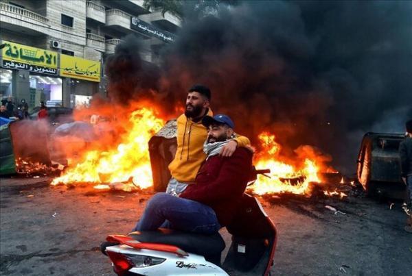 ادامه اعتراضات لبنانی ها علیه اوضاع بد معیشتی