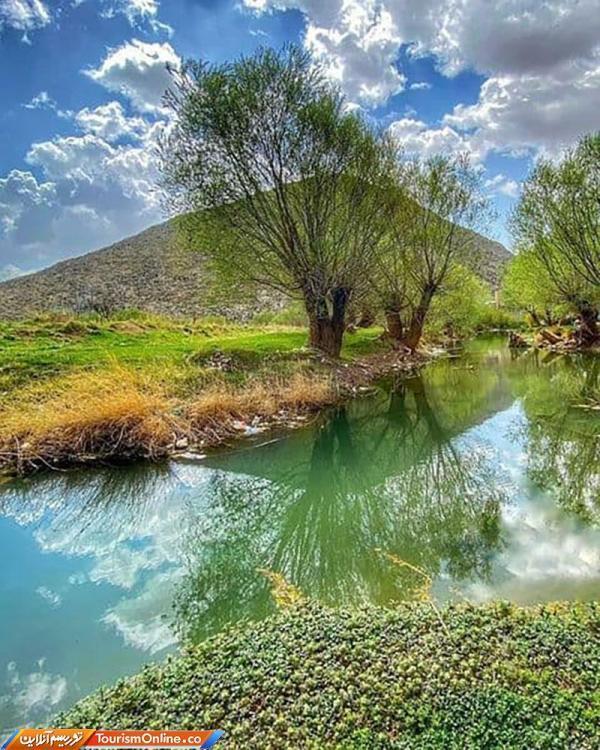 طبیعتِ بهاریِ شازند در استان مرکزی