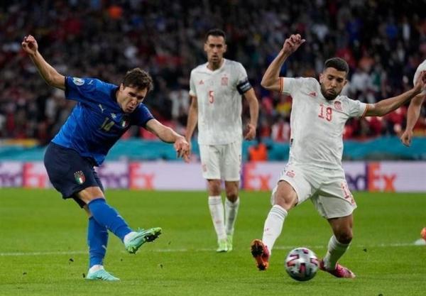 یورو 2020، مصاف ایتالیا و اسپانیا به وقت های اضافه کشیده شد