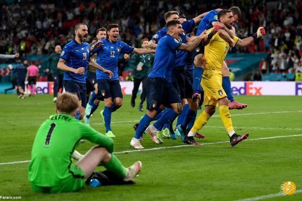 ایتالیا پس از 53 سال قهرمان جام ملت های اروپا شد