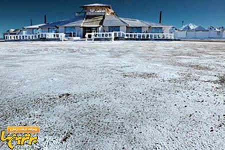 با نمک ترین هتل دنیا ، عکس