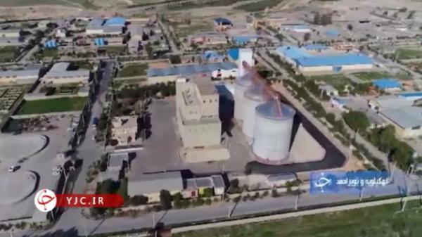 فراوری و اشتغال در یکی از بزرگترین کارخانه های فراوری آرد